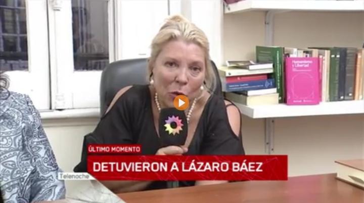 Lázaro Báez Preso